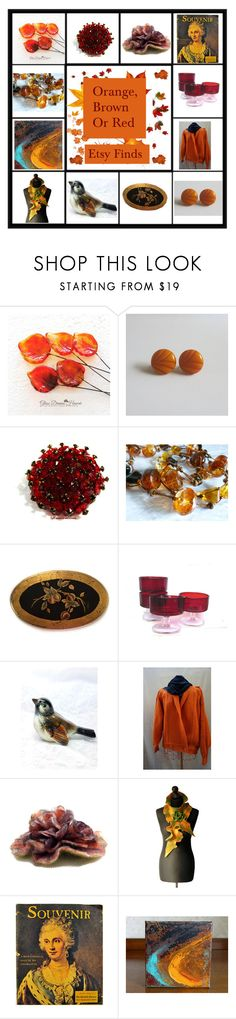 """""""Esty Finds II"""" by muskrosevintage ❤ liked on Polyvore featuring Bastien, Luminarc, Goebel and vintage"""