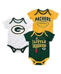 d7b51c28e13 Green Bay Packers Bodysuit Set - Infant