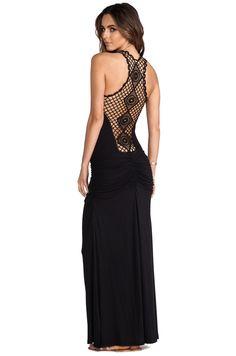 sky Jelizaveta Dress in Black