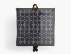 Abstract Beaded Dots Pattern