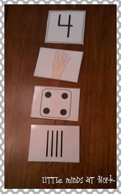 Little Minds at Work: Number Sense Classroom Resources {freebie}