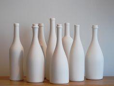 ceramic wine bottle by ryota aoki