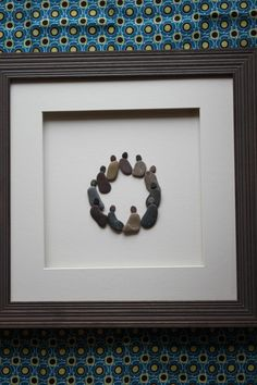 Pebble Art of Nova Scotia Circle of friends by Sharon by PebbleArt