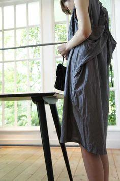 grey uzi refugee dress