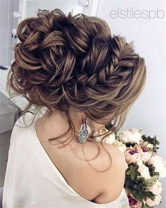 Wedding Hairstyles for Long Hair Updo #hairstylesrecogido