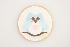 How to make sugar cookies with owl motif • CakeJournal.com