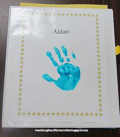Teaching 2 and 3 Year Olds: End-of-the-Year Memory Books