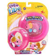 """Site d'entreprise Toys""""R""""Us - Little Live Pets - P'Tite Souris Sur Roue -Gaufrette"""
