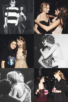 Taylor swift and Selena Gomez bffs Selena And Taylor, Taylor Alison Swift, Estilo Selena Gomez, Marie Gomez, Best Friends Forever, Taylors, Beauty Queens, Role Models, My Idol