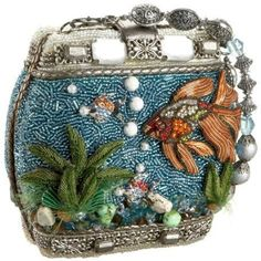 Mary Frances Hand Beaded Fish Bowl Purse Clutch Shoulder Bag ^ $315.00 https://www.amazon.com/Mary-Frances-Jeweled-Dimensional-Shoulder/dp/B01AH308VA/ref=pd_sbs_309_t_0?_encoding=UTF8&psc=1&refRID=0CFY4N6EDGZCGG9ESB88
