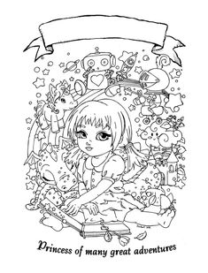 Princess of many great adventures by *JadeDragonne