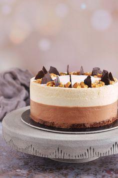 Csokis-mogyoróvajas mousse torta | Sweet & Crazy