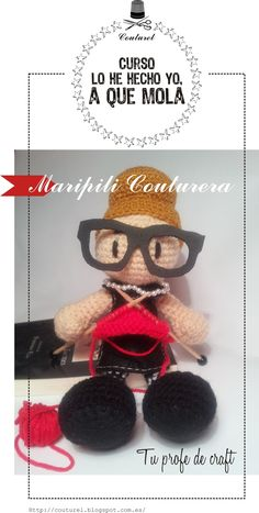 Maripili Couturera, tu profe de craft / your crafts teacher, by Couturel  (2)