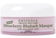 Eminence Strawberry Rhubarb Masque - smells so good I want to eat it