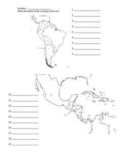 8 Best Landafræði images | World geography, Central america map ...