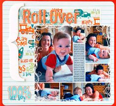 Scrapbook Everyday Baby Moments in a Photo Collage