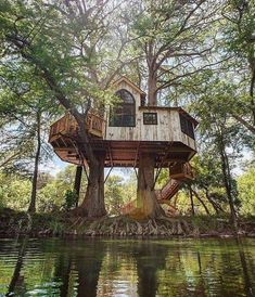 Our Final Season of Treehouse Masters — Nelson Treehouse Beautiful Tree Houses, Cool Tree Houses, Pallet Tree Houses, Camping 3, Camping Survival, Bushcraft Camping, Camping Outdoors, Treehouse Masters, Wood Playhouse