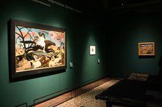 Allestimento della mostra Henri Rousseau a Venezia 2015 http://tosettoallestimenti.com/allestimento-mostre-musei/