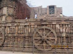 Konark Sun Temple in Puri, Odisha