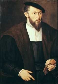 Portrait of a Man, 1549 (oil on panel)