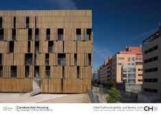 [Collective Housing Atlas] Carabanchel Housing by Foreign Office Architects Ba Architecture, Contemporary Architecture, Architecture Details, Hotel Apartment, Urban Park, Social Housing, Deco, Rooftop, Gallery