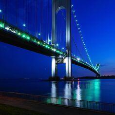 Verrazano-Narrows Bridge, Brooklyn to Staten Island