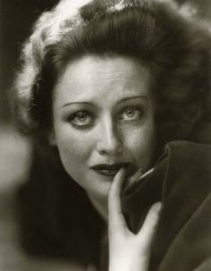 Joan Crawford by Hurrell, sans foundation