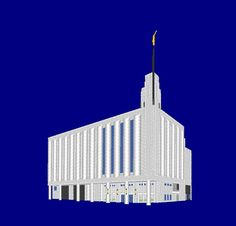 Manhattan New York City Temple Embroidery Machine by OCDEmbroidery