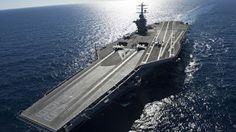 Kapal Induk Terbaru US Navy - Garuda Cakrawala