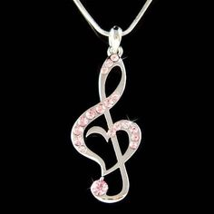 We've Brainstormed, You Benefit: The Best Jewelry Advice Is Here Music Jewelry, Heart Jewelry, Cute Jewelry, Jewelry Accessories, Unique Jewelry, Jewelry Necklaces, Diamond Pendant Necklace, Snake Necklace, Bracelets