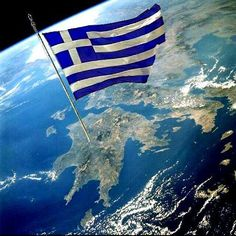 """ Congrats to Greece ""Cradle of Democracy"" and to her Wonderful people, like you my dear Greek friend"" Greece Flag, Western Philosophy, Greek Beauty, Greek History, Greek Music, Cities In Europe, Acropolis, Flags Of The World, Thessaloniki"