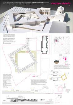 La nueva Hospedería respeta el valor arquitectónico del conjunto histórico sobre el que se interviene y  salvaguarda la relación del edificio con la iglesia, y la del conjunto con la nueva plaza y la trama urbana hacia el paisaje. El proyecto conserva...