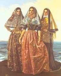 Vestits típics de Mallorca - Illes Balears, Espanya.