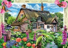 Foxglove Cottage (88 pieces)