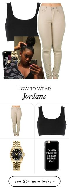 """""""✨"""" by saucinonyou999 on Polyvore featuring adidas Originals, Casetify, Rolex, Tom Ford and Retrò"""