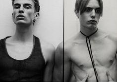 Les New Faces de Brett Lloyd SAM H., 18 ANS, PAYS-BAS  /  MARCO TORRI, 20 ANS, ITALIE