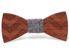 On The Fly - Wooden Bow Tie