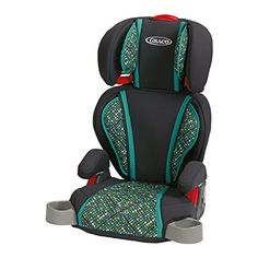 Graco Turbobooster Highback Booster Car Seat In Mosaic Black/teal - Loaded with comfort features for kids, the Graco TurboBooster Highback Booster Car Seat helps protect your growing child, from lb. Baby Safety, Child Safety, Herman Miller, Seat Belt Pads, Toddler Car, Toddler Stuff, Booster Car Seat, Car Seat Accessories, Elevator