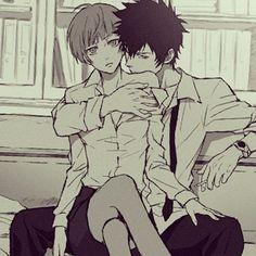 Akane and kogami