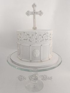 Confirmation Cake - Cake by Nessie - The Cake Witch