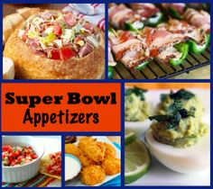 Top 20 Appetizers for Super Bowl XLVII... Make this the best Super Bowl ever with these delicious appetizer and dip recipes.