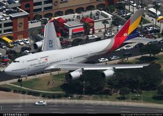 Boeing 747-48E HL7428 28552 Los Angeles Int'l Airport - KLAX #tbt #Asiana #AsianaAirlines