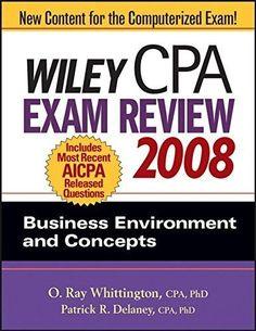 Wiley CPA Exam Review 2008: Business Environm..., Delaney, Patrick R. 0470135220 - http://books.goshoppins.com/business-investing/wiley-cpa-exam-review-2008-business-environm-delaney-patrick-r-0470135220/