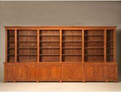 c. 1900 French Bookcase Unrestored