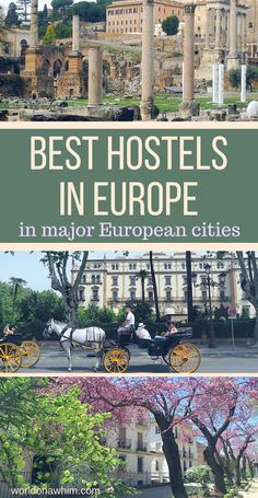 Are you looking for a list of the best hostels in Europe for solo travelers and backpackers in most major European cities? This post showcases all of Europe's famous hostels! It details all of the top hostels in Europe broken down my city. best hostels in Europe, solo travel, Hostelworld, what is a hostel, backpacking Europe, youth hostel, hostel vs hotel, backpacker hostel, backpacking Europe cost, cheap hostels, find hostel, hostel search, best hostel website