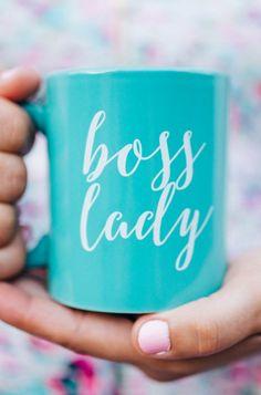 'Boss Lady' mug
