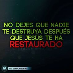 Cierto ..... hay ataques mas perversos que buscan alejarte de Dios...... Confia en el Señor y vive una vida de obediencia a El. Bible Quotes, Bible Verses, In God We Trust, Spanish Quotes, Christian Living, God Is Good, Jesus Loves, Christian Quotes, Gods Love