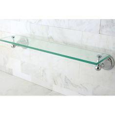 "Kingston Brass Governor 20.75"" x 3"" Bathroom Shelf | AllModern"