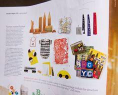 The book ABC NYC, as seen in Martha Stewart Living. Thanks Martha!