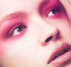 Pink makeup!